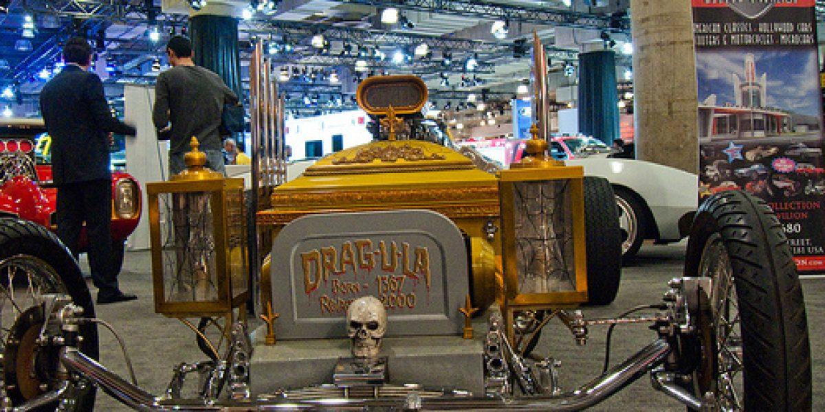 El auto de Drácula