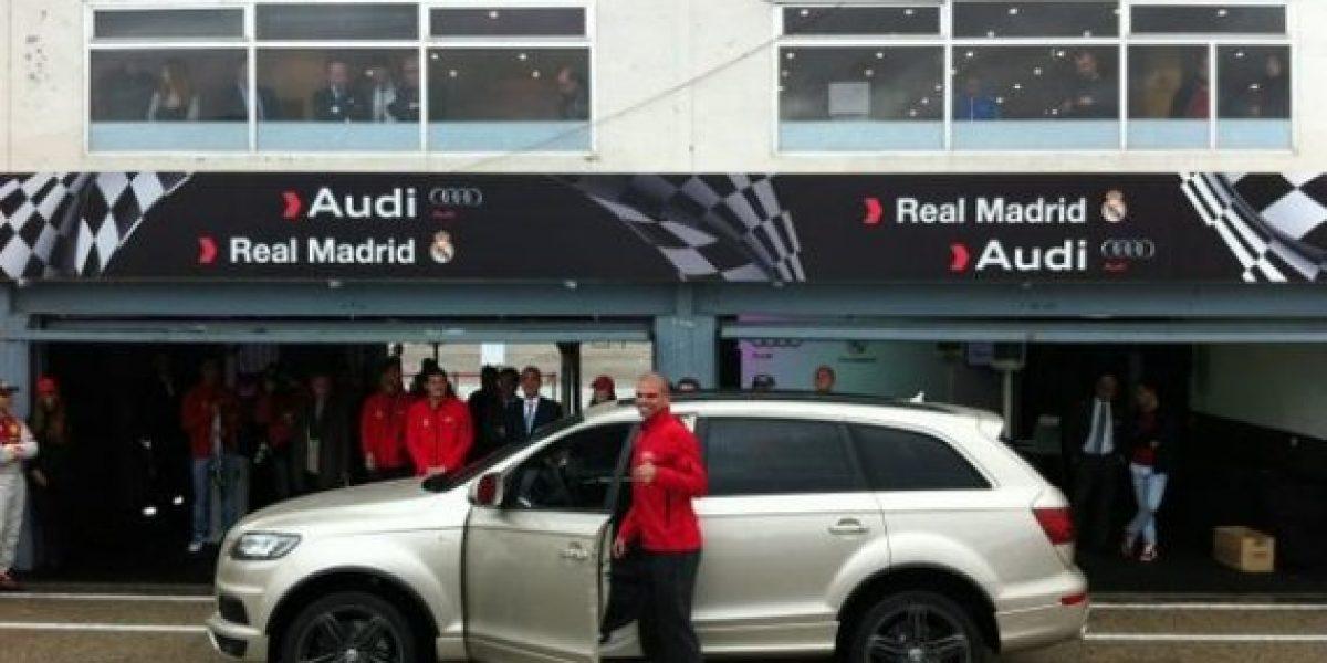 Los recién entregados autos del Real Madrid