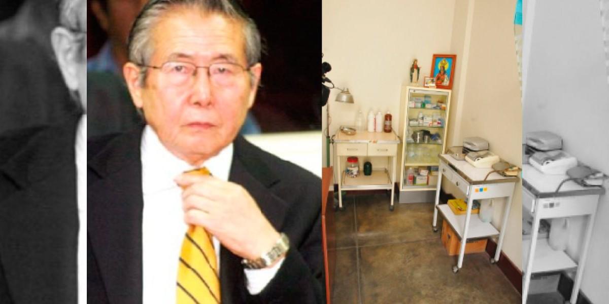 Estos son lo lujos de la prisión donde está Fujimori
