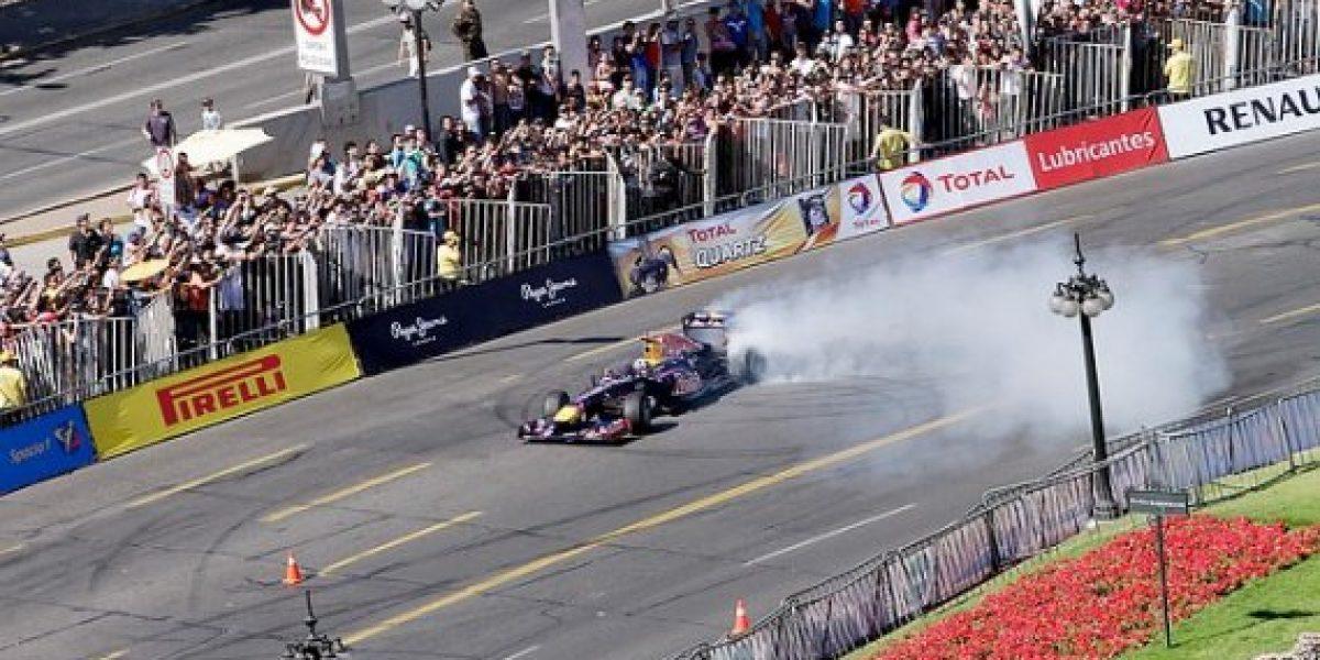 Fotos: Así fue la presentación del Fórmula 1 en Santiago