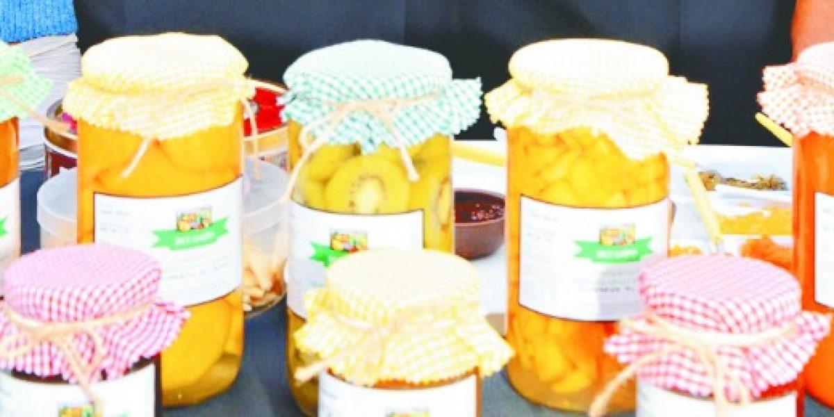 Pymes presentan sus productos gastronómicos