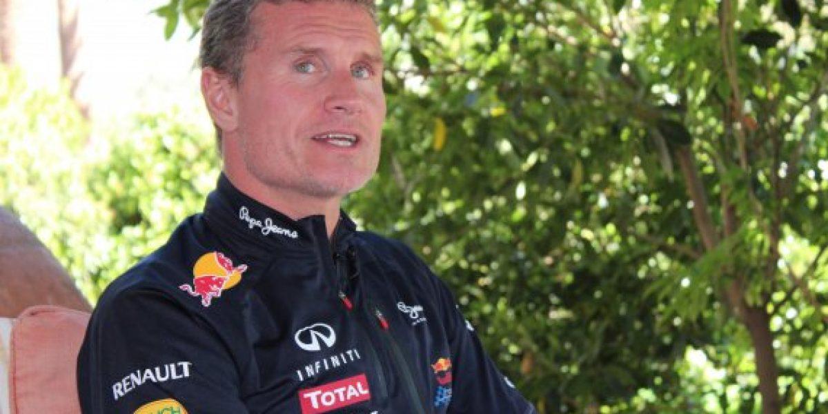 Entrevista exclusiva con David Coulthard