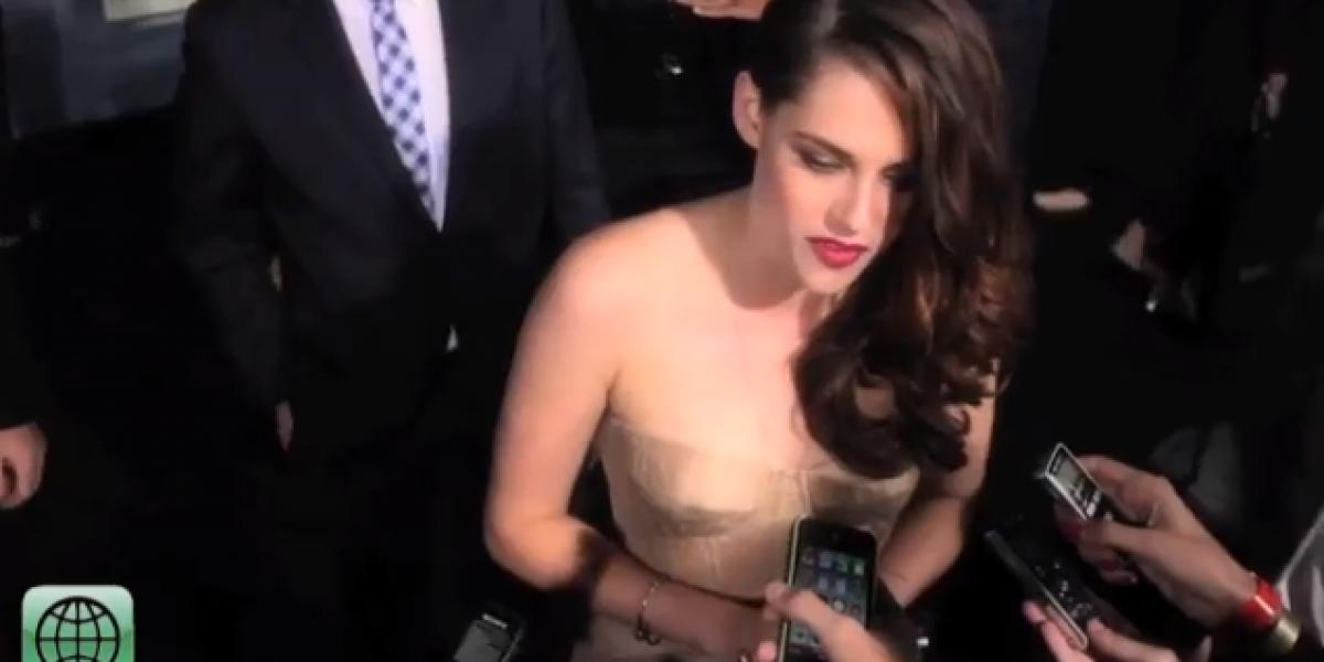Robert Pattinson y Kristen Stewart hablaron de