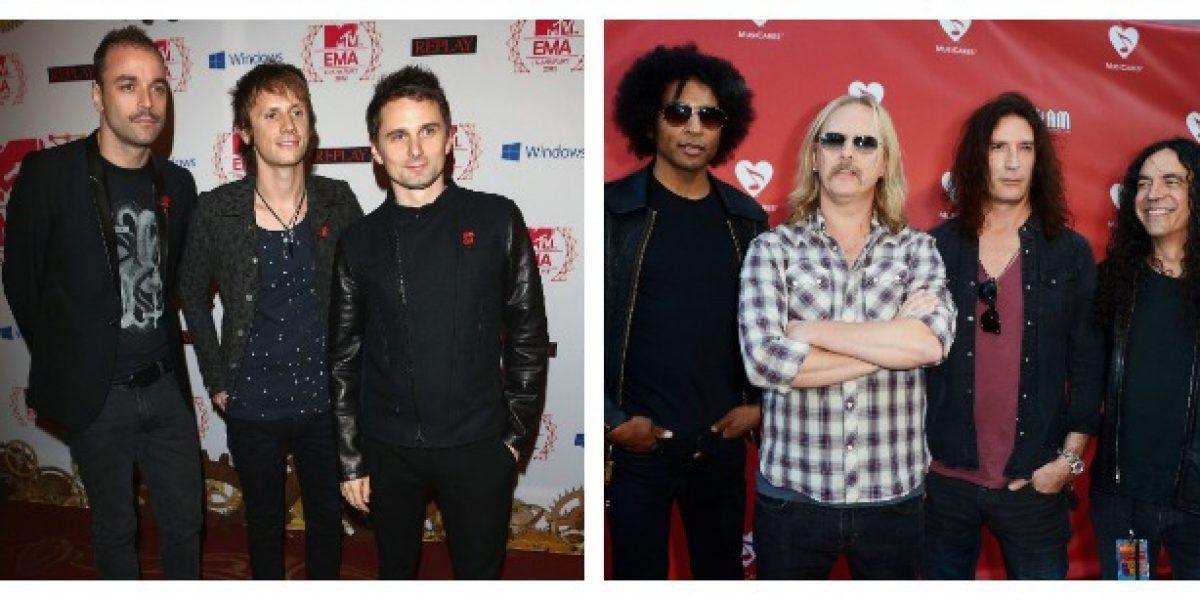 Rock in Río 2013 confirma a Muse y Alice in Chains abriendo la posibilidad que regresen a Chile