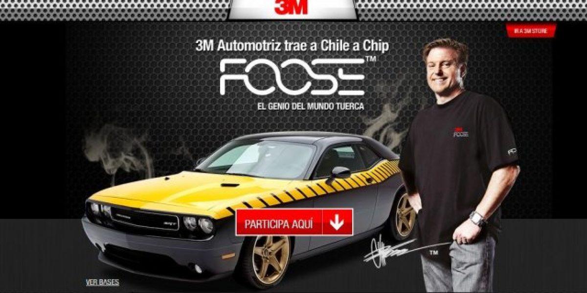 Viene a Chile conductor del programa Overhaulin Chip Foose