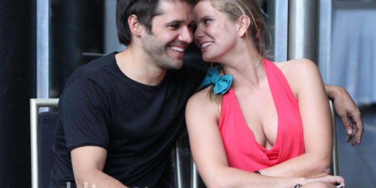 Captamos el coqueteo entre Mario Horton y Javiera Acevedo