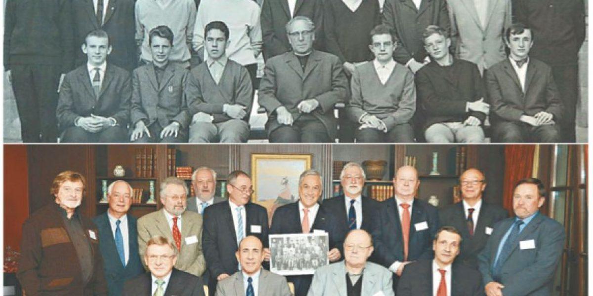 Foto: Presidente Piñera tuvo reunión con ex compañeros de Bruselas