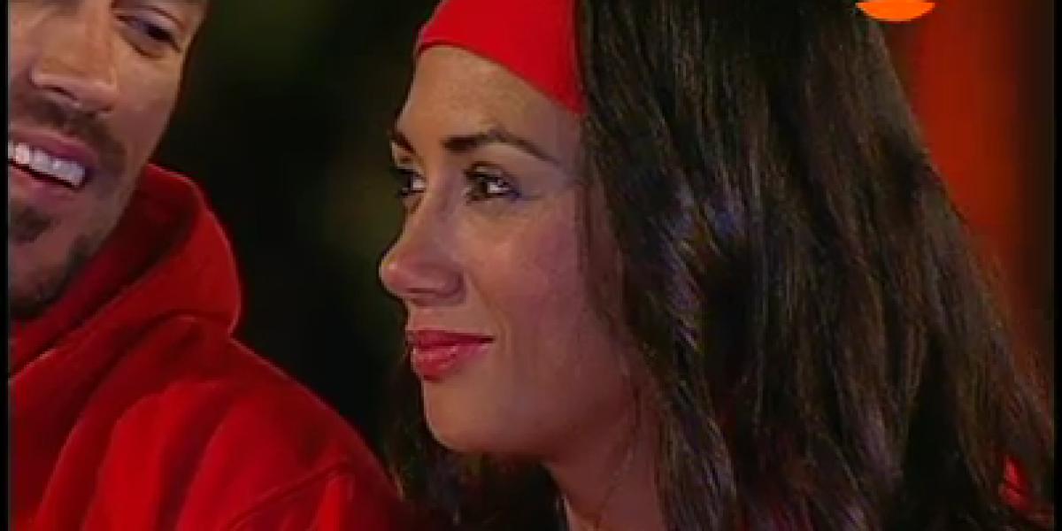 Entre lágrimas Pamela Díaz abandona
