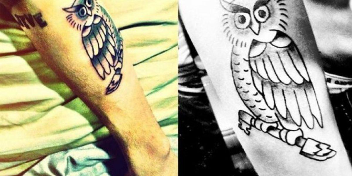 Justin Bieber muestra su nuevo tatuaje en el brazo