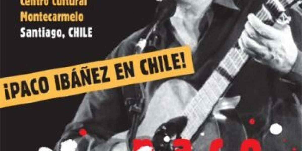 Paco Ibáñez se presenta en Chile este 24 de noviembre