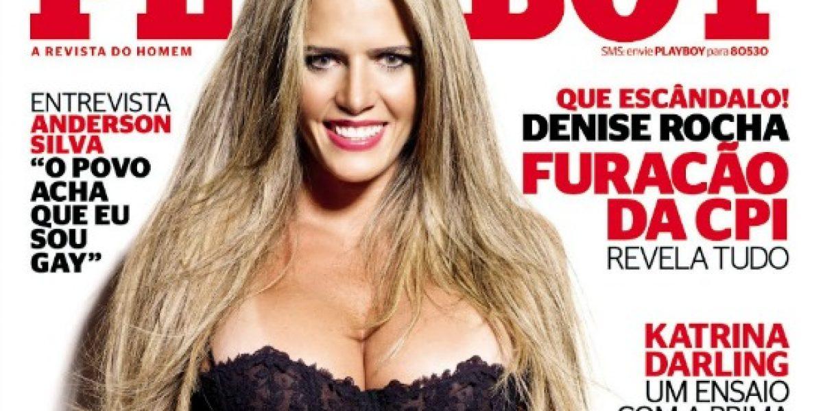 Fotos: Abogada brasileña del video hot sí posó para Playboy