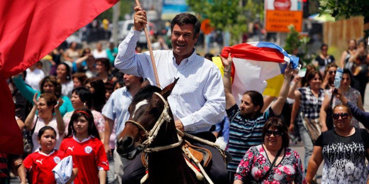 [FOTOS] Masiva y cariñosa despedida a Manuel Ossandón en Puente Alto