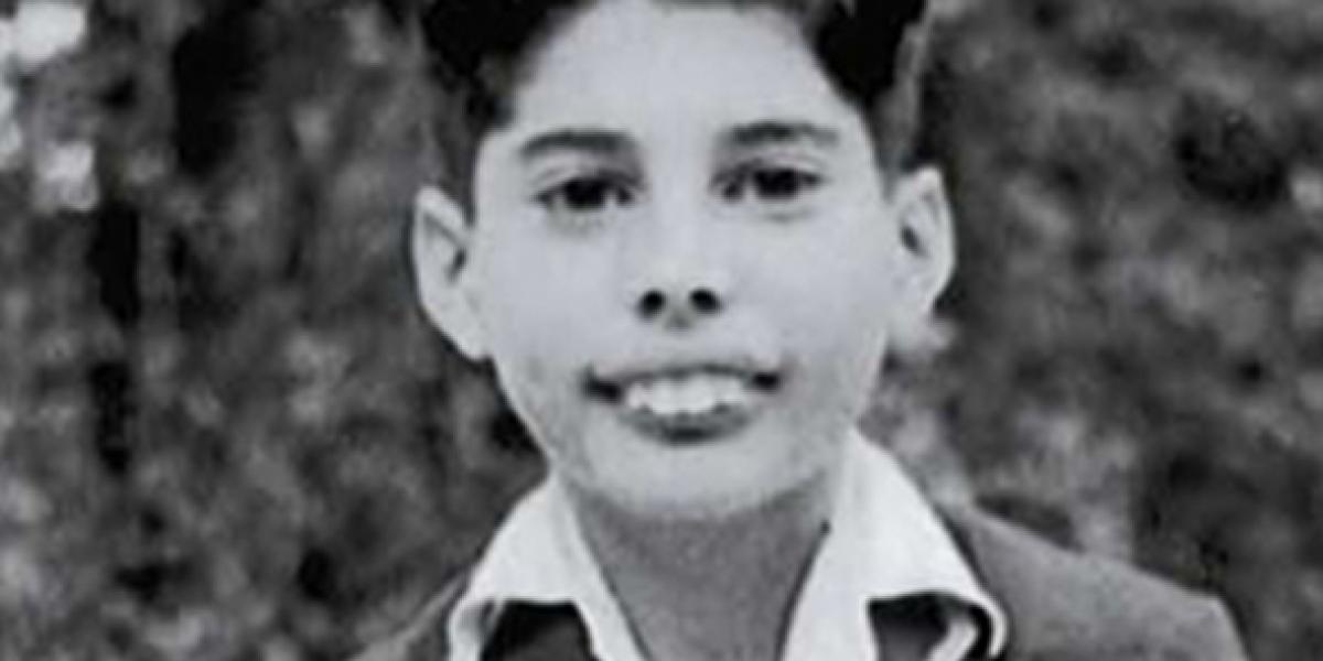 ¿Adivinas quién es este famoso cuando chico?