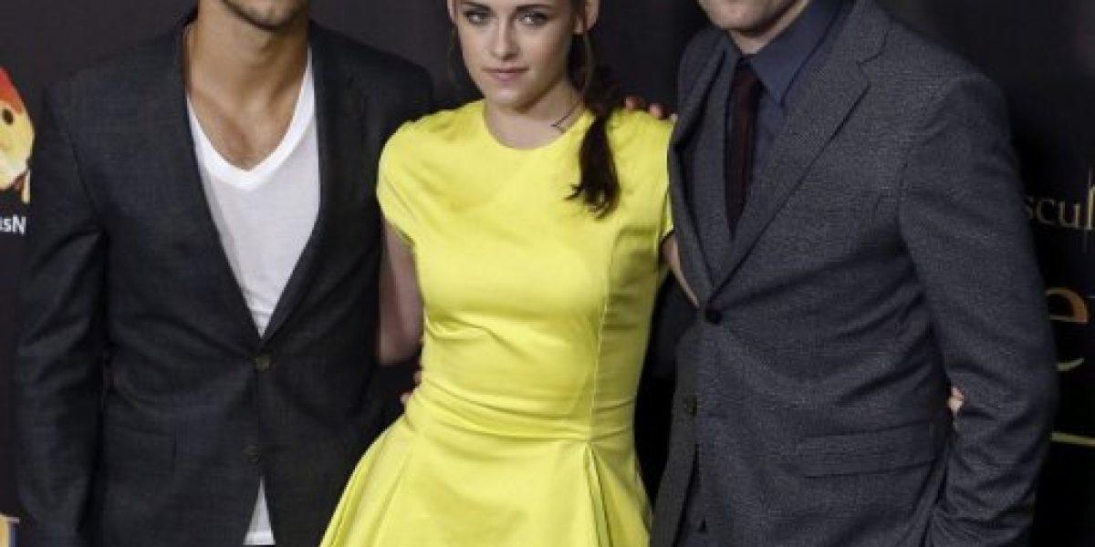 Kristen Stewart y Robert Pattinson en el último amanecer