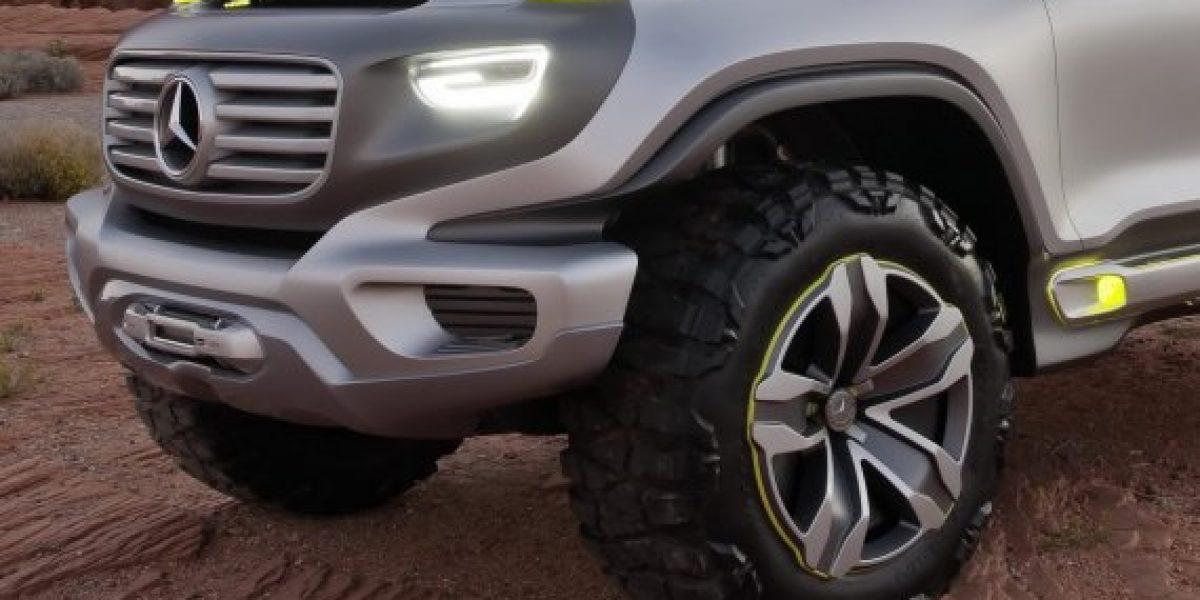 Las patrullas policiacas del 2025 de Mercedes Benz