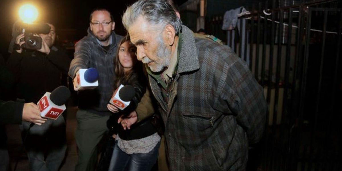 Detienen a hombre de 82 años por abusar de su nieta en Villa Alemana