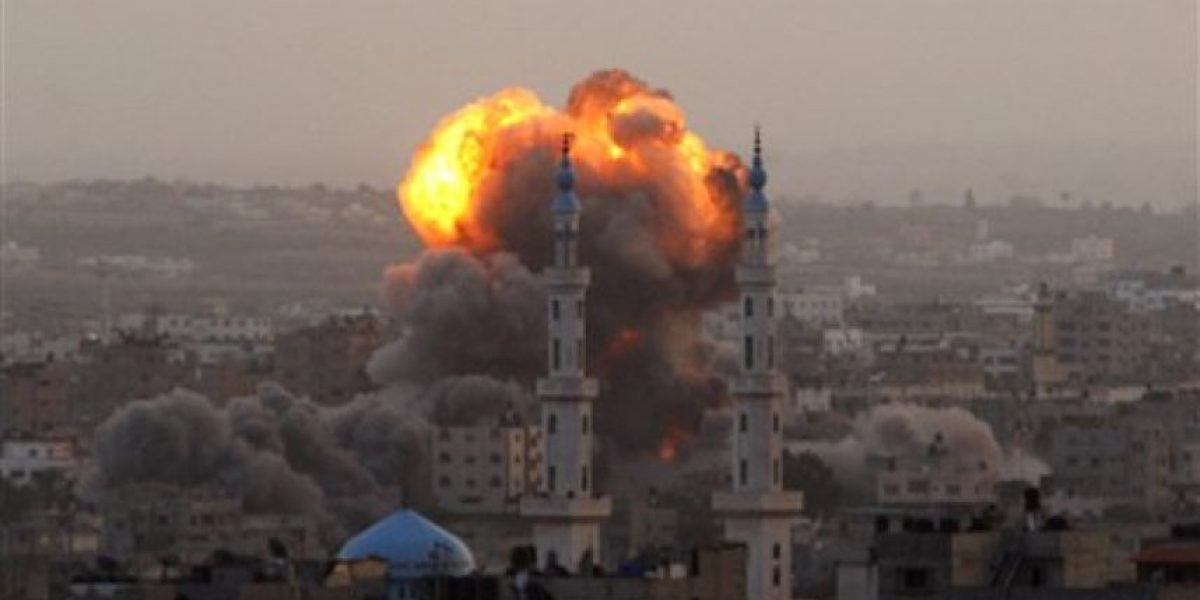 Impactantes imágenes de ataques entre Israel y Gaza