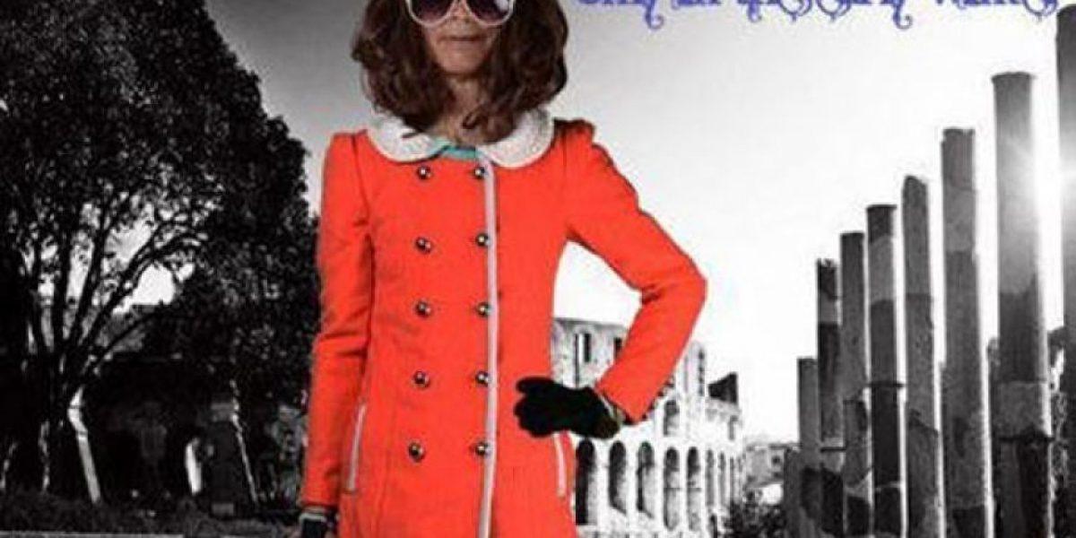 Abuelo revoluciona las redes sociales posando en un catálogo de moda femenina