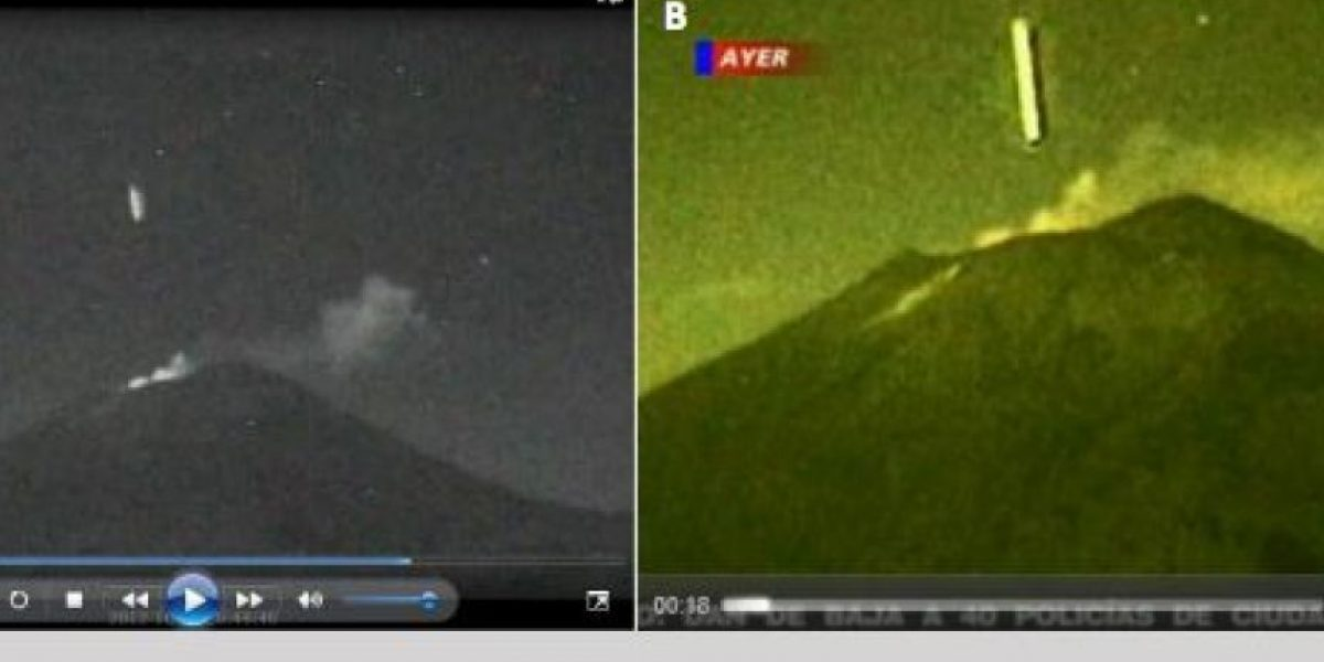Un meteorito o un satélite fue el objeto que cayó en volcán mexicano