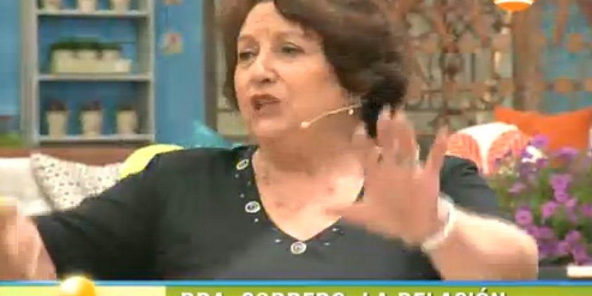 Doctora Cordero revela romance oculto de Raquel Argandoña