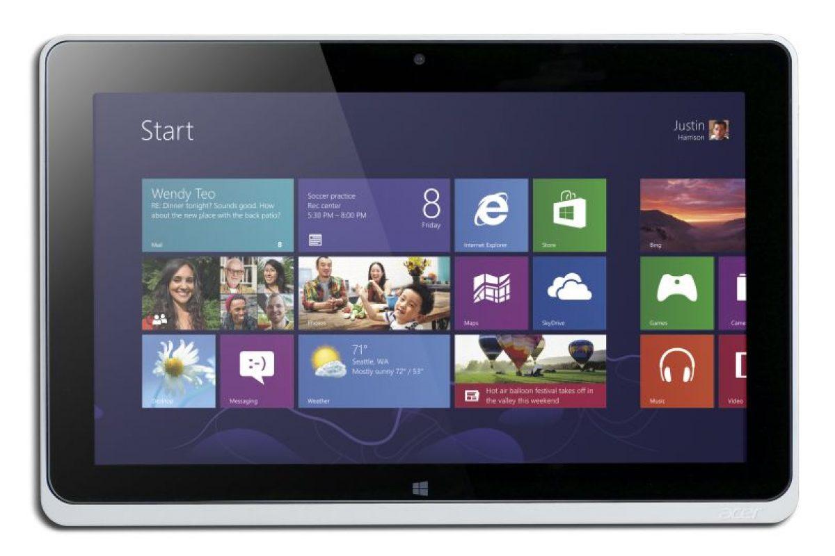 Foto:Acer Iconia Tab W510 / Windows 8 /Multi-Touch /Precio Ref.: $499.990. Imagen Por: