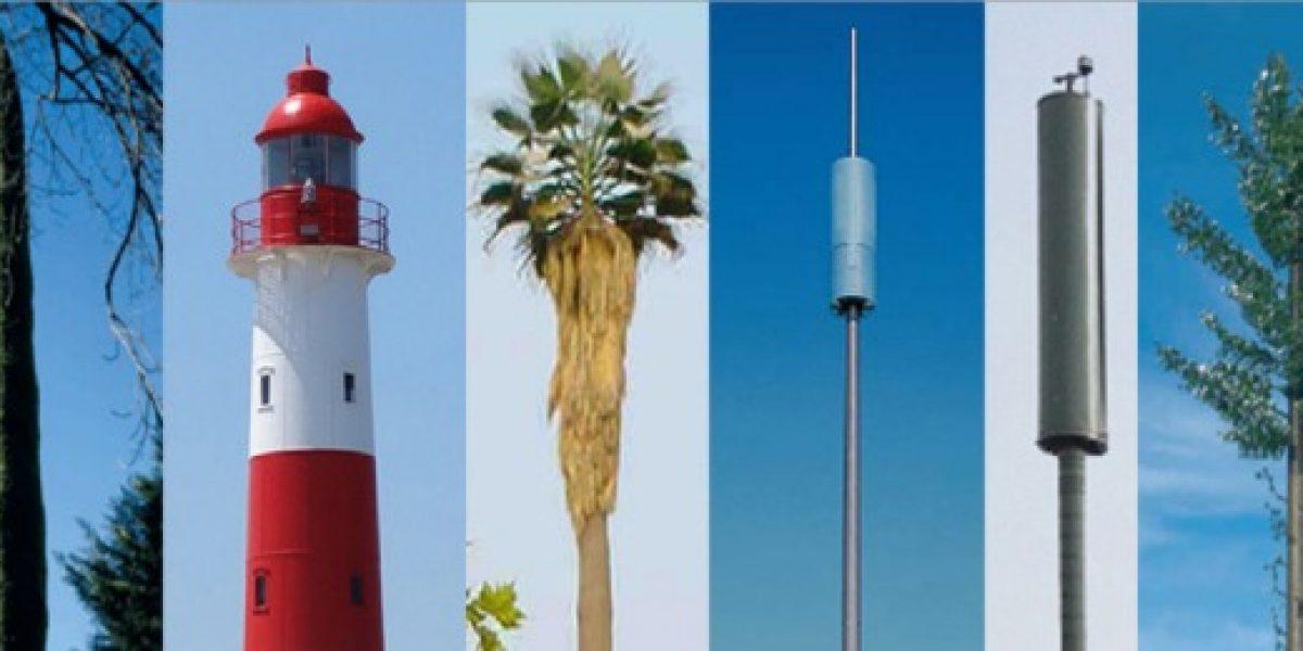 Revelan los 18 diseños aprobados para antenas de celulares