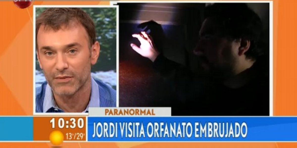 Jordi Castell vive una fuerte experiencia paranormal