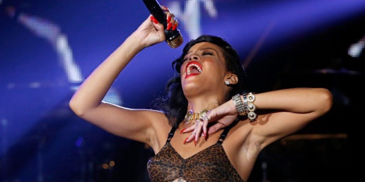 El provocador show de Rihanna en Londres en su Tour 777