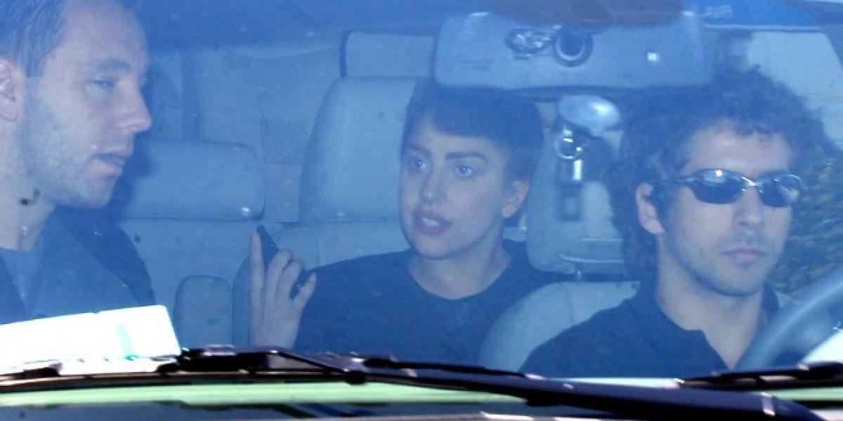 Captan la llegada de Lady Gaga a Chile