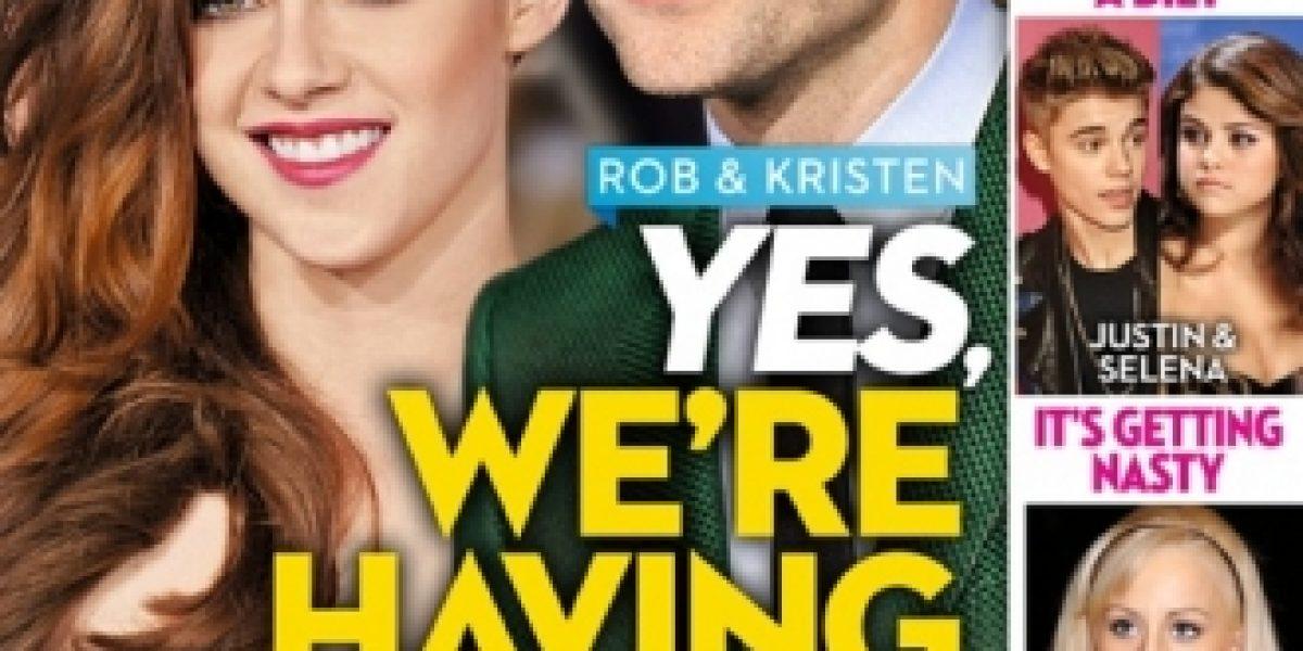 Revista asegura que Kristen Stewart y Robert Pattinson serán padres