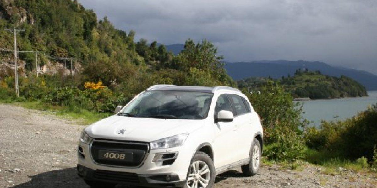 Contacto en la Patagonia con el primer 4x4 de Peugeot