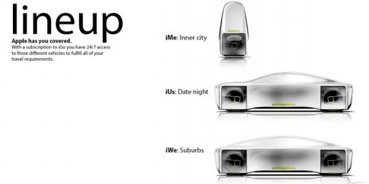 Apple crea iGo, sus primeros autos eléctricos manejados desde iCloud