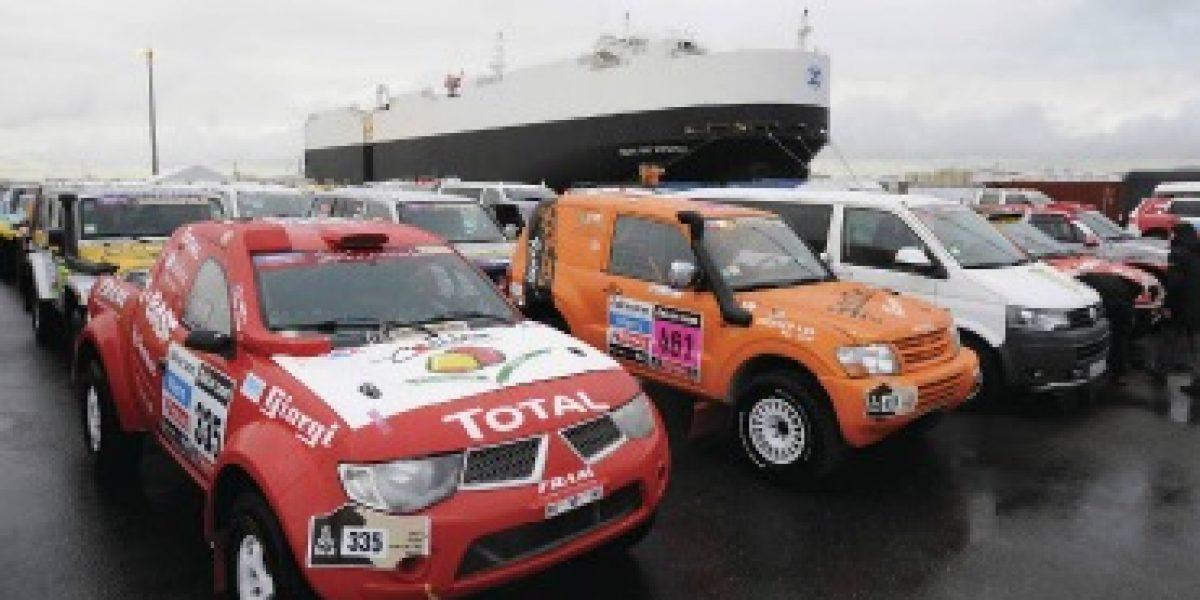 DAKAR 2013: Conoce el puerto donde se embarcan todos los competidores europeos