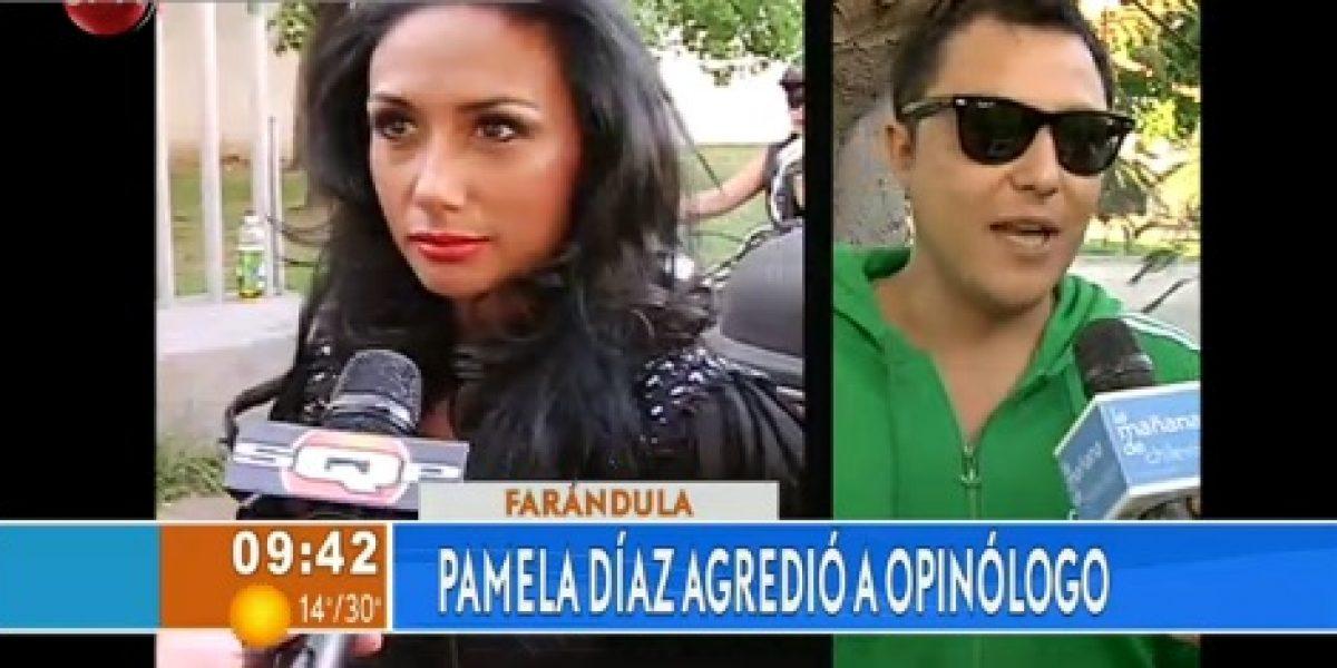 Así fue el día de furia de Pamela Díaz