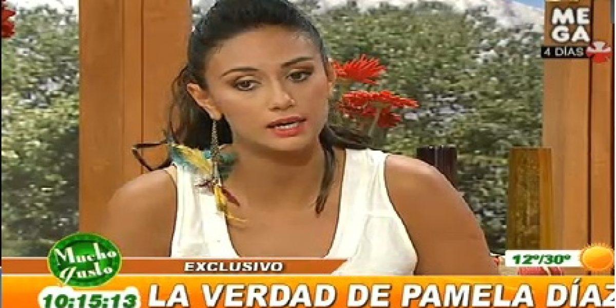 Pamela Díaz explica por que golpeó a periodista de farándula