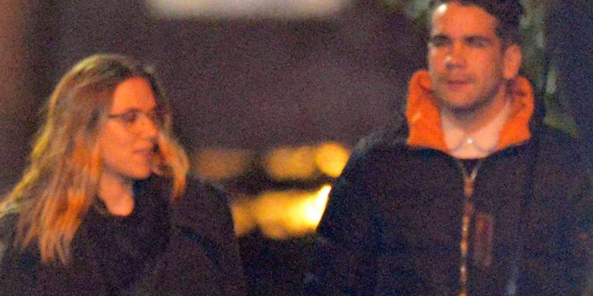 Scarlett Johansson es captada con nueva pareja