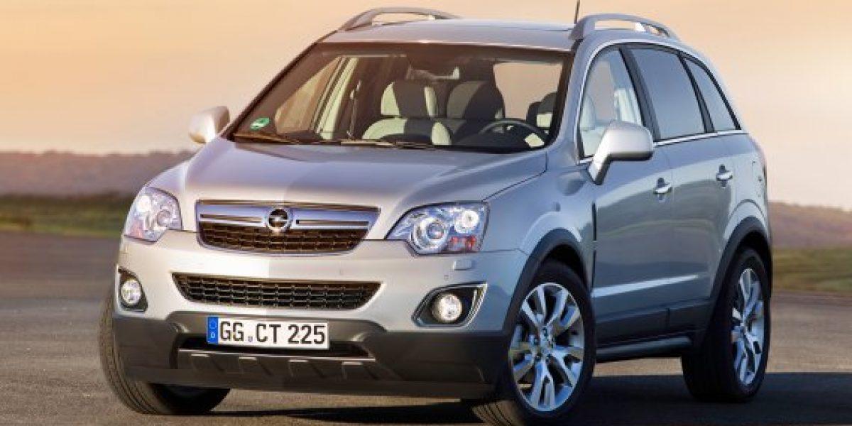 Opel presenta su primer SUV diésel en Chile: Antara