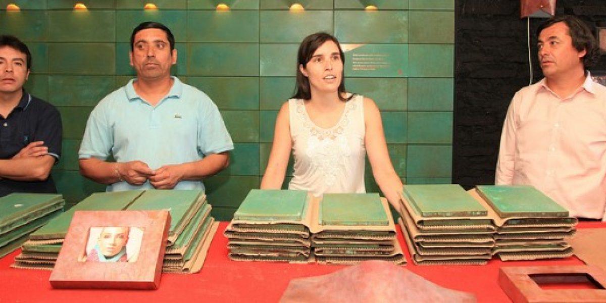 Lámparas de cobre, fabricadas por internos del penal Colina I, se exhibirán en Nueva York y Milan
