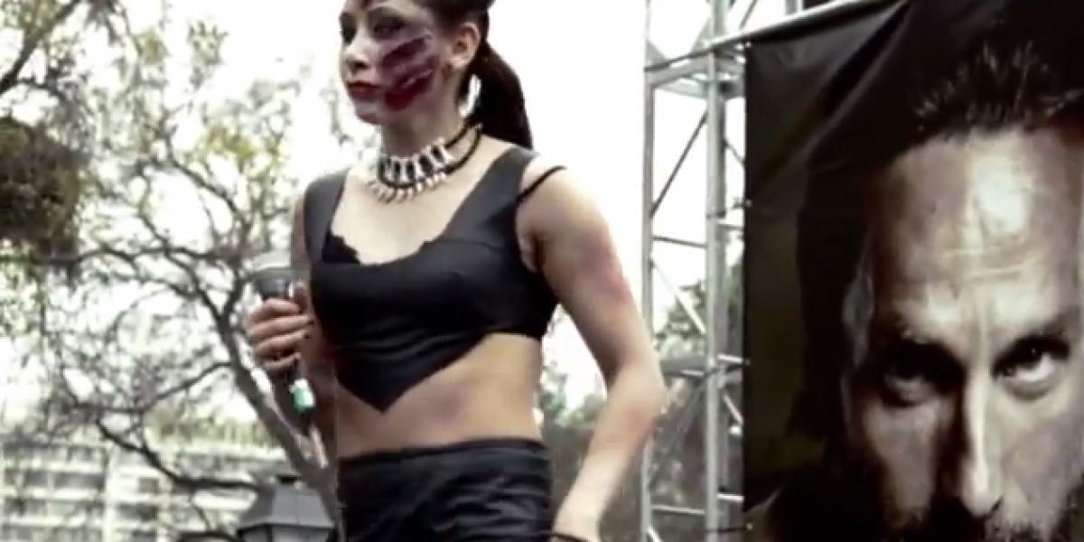 Voodoo Zombie lanza video oficial de la Zombie Walk 2012