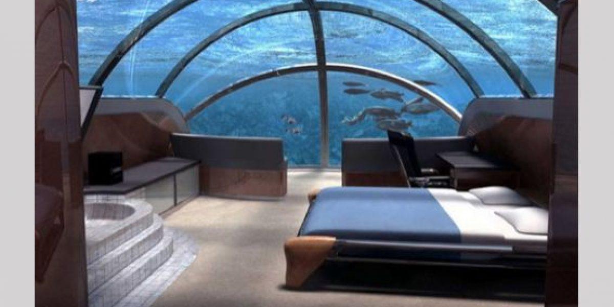 ¿Te hospedarías en un hotel que está bajo el mar?