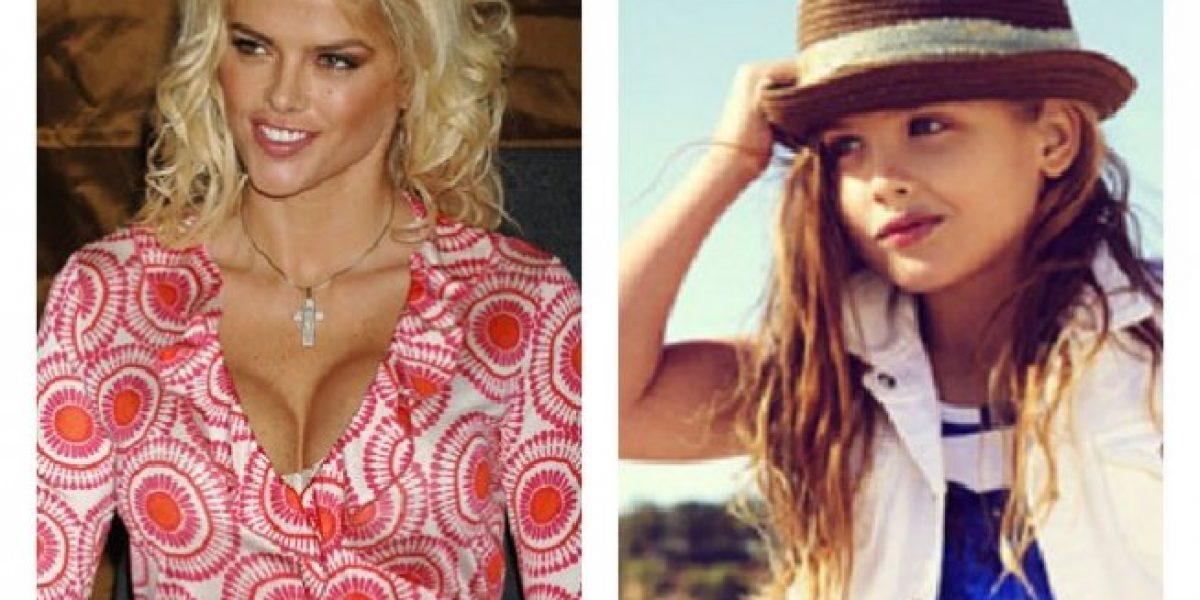 Con 6 años debuta en las pasarelas la hija de Anna Nicole Smith
