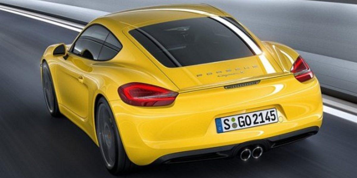 Estreno mundial del nuevo Porsche Cayman