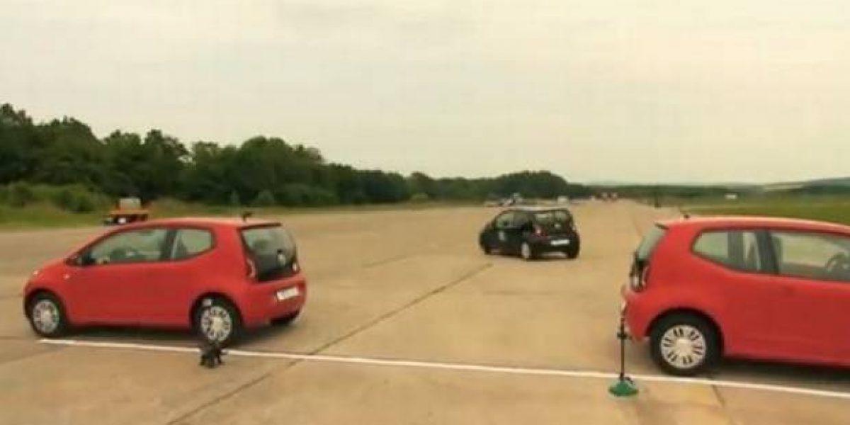 Récord Guiness de estacionar un auto