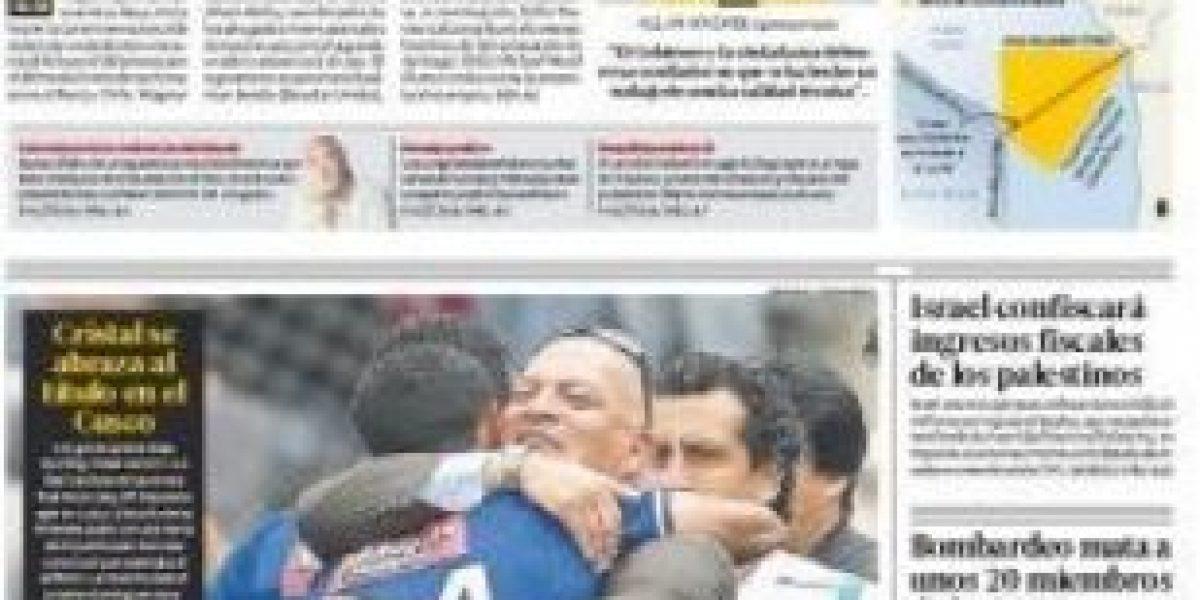 [FOTOS] Así titularon los diarios peruanos el inicio de alegatos en La Haya