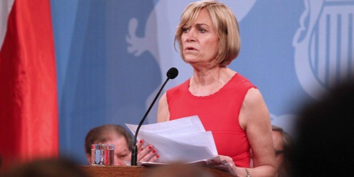 Ministra Matthei realiza cuenta pública 2012 y detalla agenda laboral para la mujer