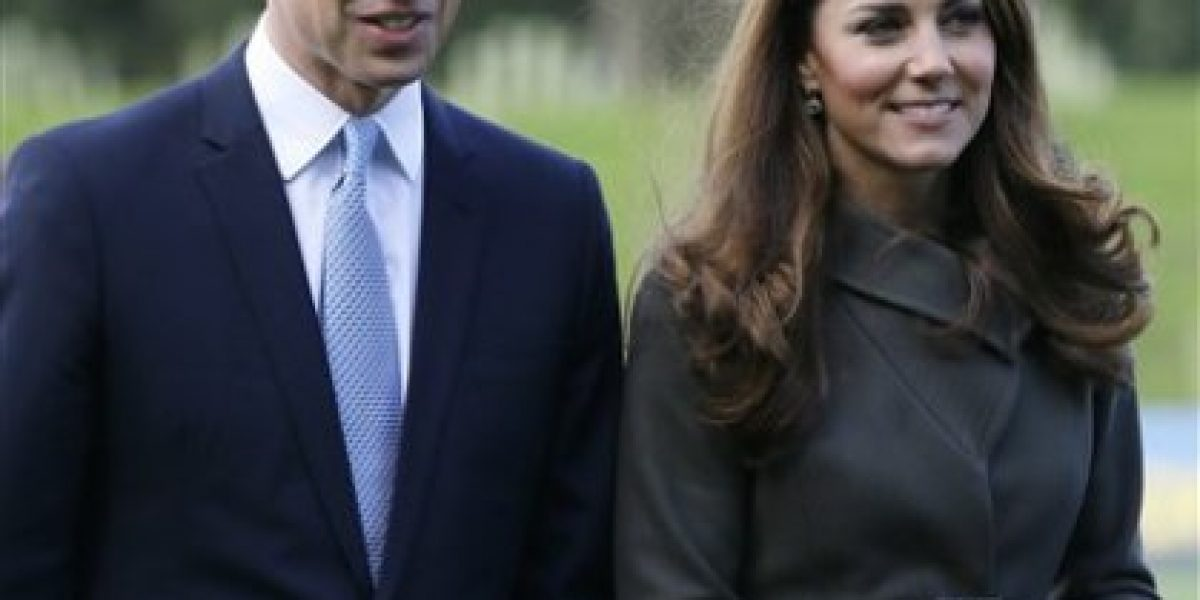 Los duques de Cambridge, William y Kate esperan su primer hijo