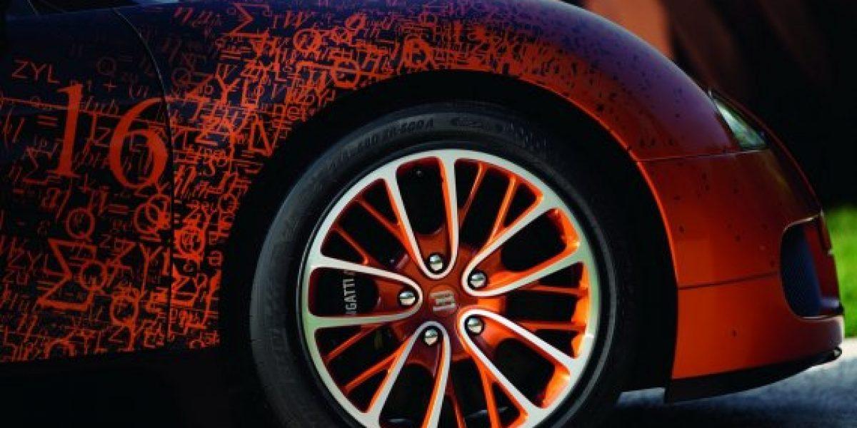 A este Bugatti si que se le puede llamar una obra de la ingeniería