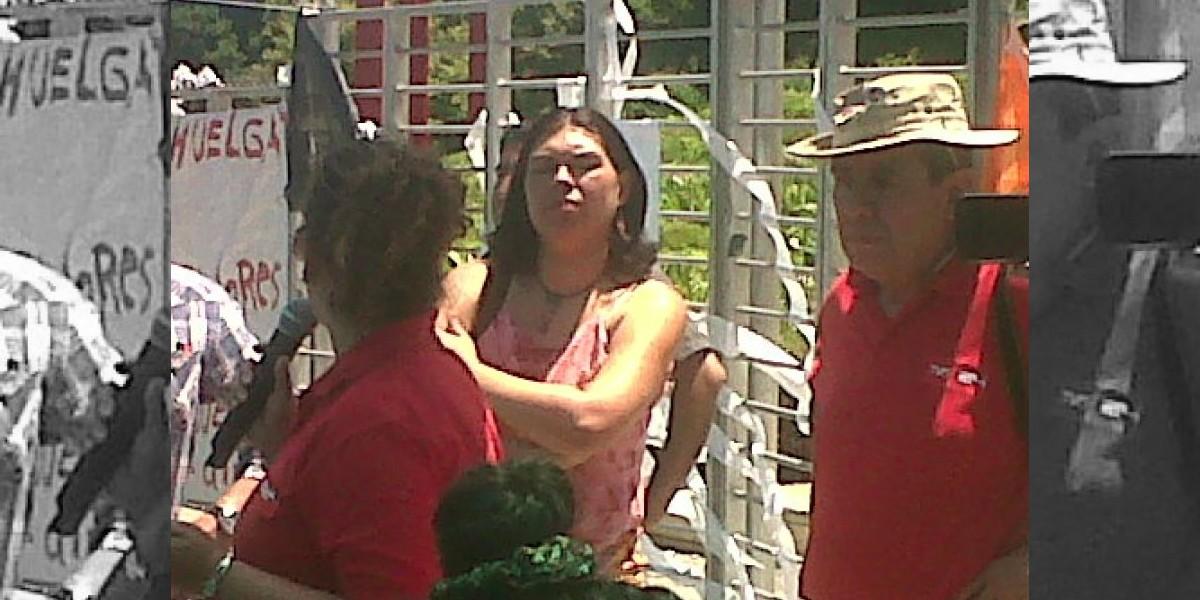 La CUT entrega su respaldo a los trabajadores en huelga de TVN