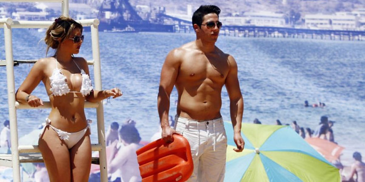 [FOTOS] Con playa artificial y bellos cuerpos Coquimbo se promociona para este verano