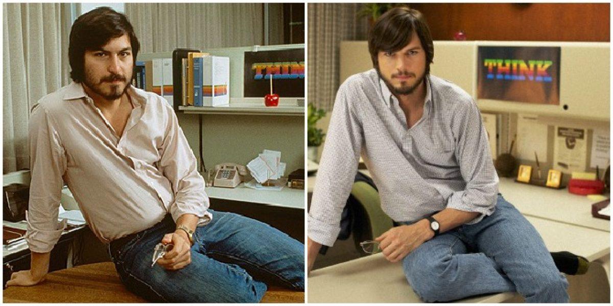 Así luce Ashton Kutcher como Steve Jobs en el primer adelanto de